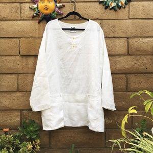 FLAX 100% linen tunic